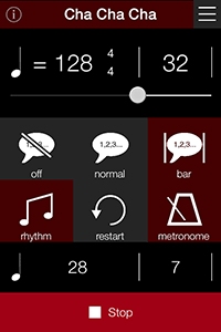 Dance Practice Music and Rhythm Apps for dancers   DanceTime Deluxe